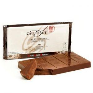 uma imagem sobre chocolate em barra Callebaut