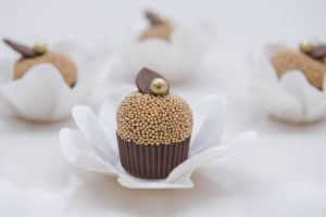 uma imagem sobre forminhas para doces finos