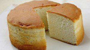 uma imagem sobre bolo fofinho com emulsificante