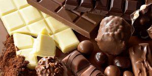 uma imagem sobre tipos de chocolate