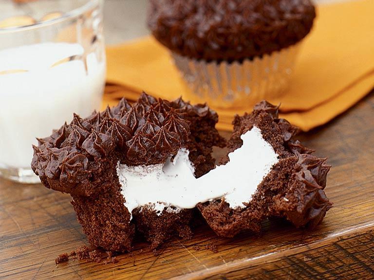 Aprenda a fazer um delicioso muffin de marshmallow