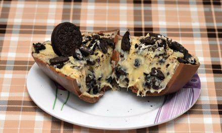 Receita: Ovo de Páscoa recheado com biscoito Óreo®