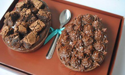 Ovo de Páscoa de Brownie