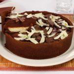 Receita: torta de chocolate duplo