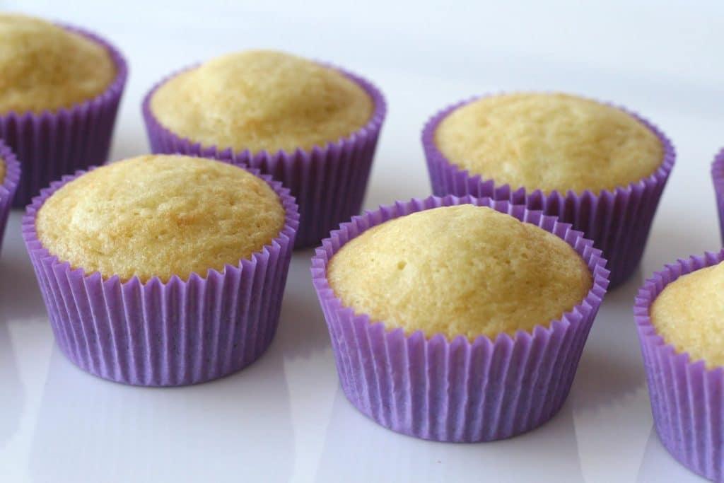 Receita de Cupcakes de Baunilha